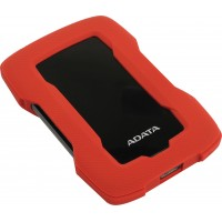 Жесткий диск ADATA HD330 External HDD-1TB-USB 3.2 Gen1-Red (AHD330-1TU31-CRD)