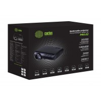 Проектор Cactus CS-PRO.02B.WXGA-W LCD 3000Lm (1280x800) 2000:1 ресурс лампы:30000часов 2xUSB typeA 1xHDMI 4.2кг