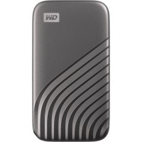 Внешний SSD WD 2TB My Passport SSD USB 3.2 Gen 2 - Space Gray (WDBAGF0020BGY-WESN)