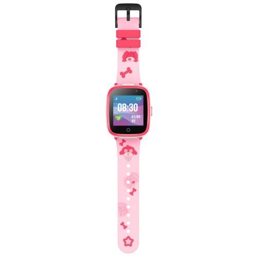 Детские часы с GPS JET Buddy розовый