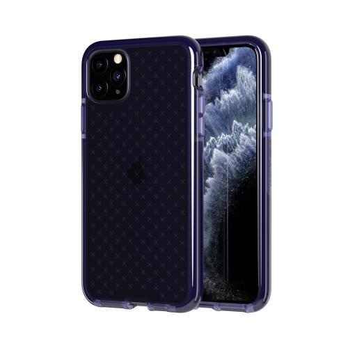 Чехол Tech21 Evo Check для iPhone 11 Pro Max - темно-фиолетовый